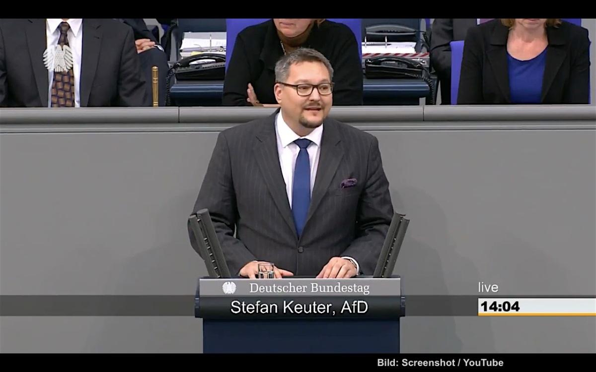 Stefan Keuter - Rede am 13.12.2017