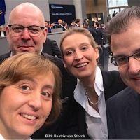 AfD ist die einzige Partei, die sich für Grenzkontrollen und damit sicheres Deutschland einsetzt