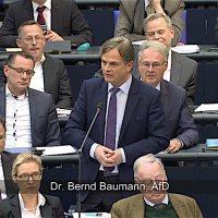 Dr. Bernd Baumann - Intervention vom 19.04.2018