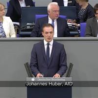 Johannes Huber - Rede vom 07.06.2018