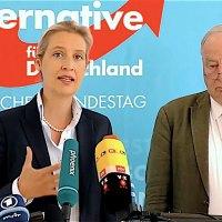 Pressekonferenz der AfD-Fraktion im Bundestag mit Alice Weidel und Alexander Gauland vom 10.07.2018