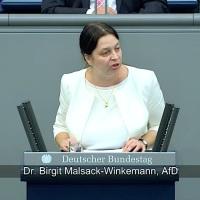 Dr. Birgit Malsack-Winkemann - Rede vom 14.09.2018
