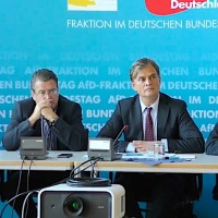 Pressekonferenz der AfD-Fraktion im Bundestag vom 25.09.2018