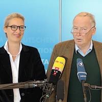"""Alice Weidel zur Abwahl von Volker Kauder: """"Die Merkeldämmerung ist eingeläutet!"""""""