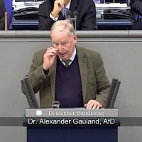 Dr. Alexander Gauland - Rede vom 17.10.2018