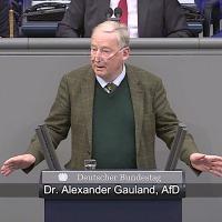 Dr. Alexander Gauland - Rede vom 08.11.2018