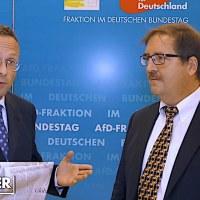 Peter Felser und Martin Hebner im Gespräch zum Globalen Pakt für Migration