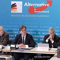 """Pressekonferenz der AfD-Bundestagsfraktion zu u. a. """"Meisterpflicht wiedereinführen"""" - 11.12.2018"""