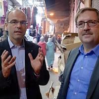 Dieser Pakt ist für uns eine Totalkatastrophe - Dr. Rainer Rothfuß und Martin Hebner in Marrakesch