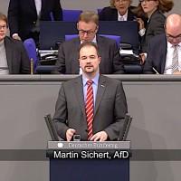 Martin Sichert - Rede vom 13.12.2018