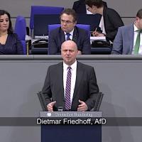 Dietmar Friedhoff - Rede vom 17.01.2019