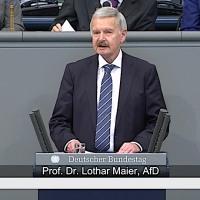 Prof. Dr. Lothar Maier - Rede vom 18.01.2019