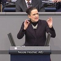 Nicole Höchst - Rede vom 14.02.2019