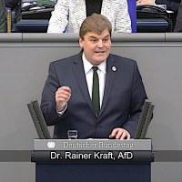 Dr. Rainer Kraft  - Rede vom 14.02.2019