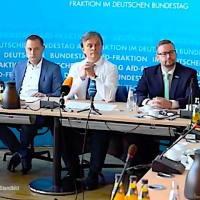 """Pressekonferenz der AfD-Bundestagsfraktion, u. a. """"Kriminelle Clanfamilien"""" - 25.06.2019"""