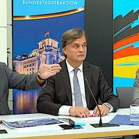 Pressekonferenz zur Organklage der AfD-Fraktion vor dem Bundesverfassungsgericht - 14.08.2019