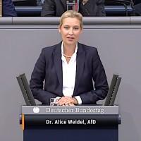 Dr. Alice Weidel - Rede vom 11.09.2019