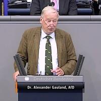 Dr. Alexander Gauland - Rede vom 11.09.2019