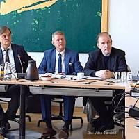 "Pressekonferenz der AfD-Bundestagsfraktion, u. a. ""Bundestag verkleinern"" - 15.10.2019"