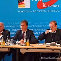 PK der AfD-Bundestagsfraktion, u. a.: Migrationskosten offenlegen, Irak-Einsatz beenden, Landwirte schützen