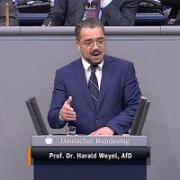 Prof. Dr. Harald Weyel - Rede vom 17.01.2020