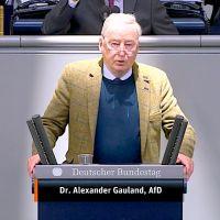 Dr. Alexander Gauland - Rede vom 25.03.2020
