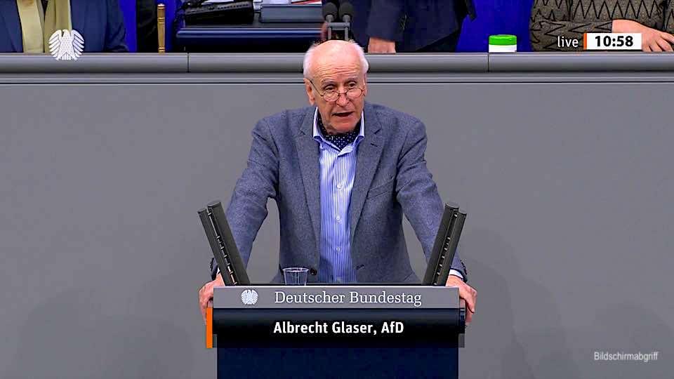 Albrecht Glaser – Rede vom 26.02.2021