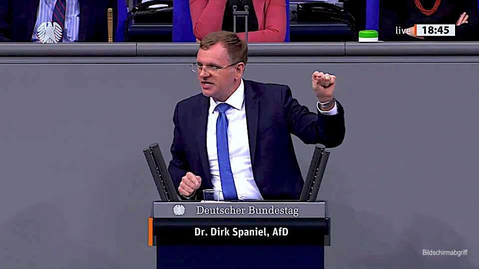 Dr. Dirk Spaniel – Rede vom 03.03.2021