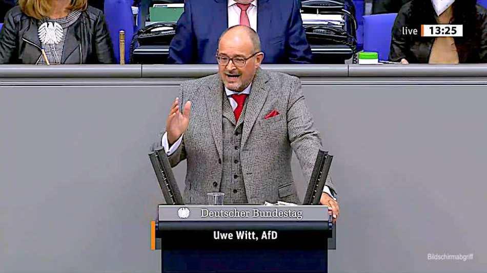 Uwe Witt - Rede vom 15.04.2021 - Politwelt.de
